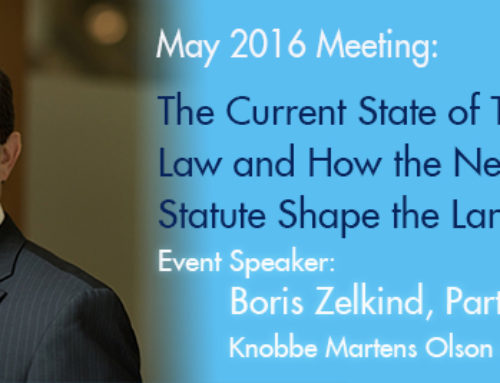 May 19 Event: Current State of Trade Secret Law