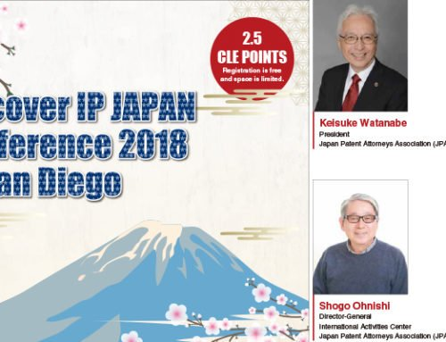 Discover IP JAPAN Conference 2018 in San Diego