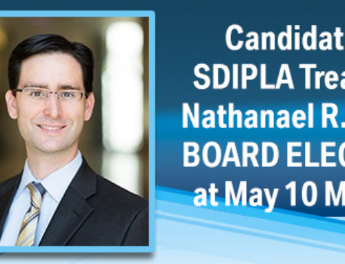 Board Elections – During SDIPLA Meeting on May 10, 2018