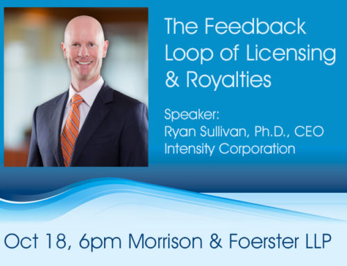 October 18, 2018 The Feedback Loop of Licensing & Royalties