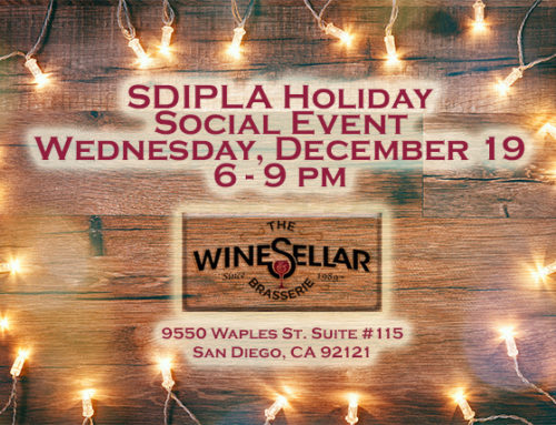SDIPLA Holiday Social Dec. 19, 2018