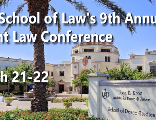 9th Annual USD Patent Conference – Early Registration Open