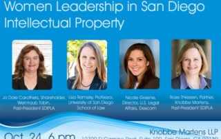 Women Leadership in San Diego Intellectual Property