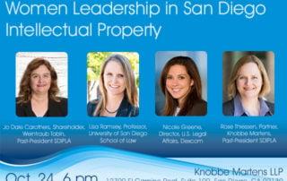 Women Leadership in San Diego Intellectual Property