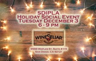 SDIPLA 2019 Holiday Social