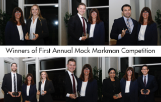 Winners of the 2019 Mock Markman Competition