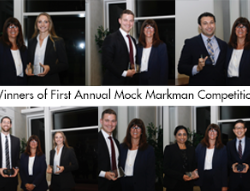 First Annual Mock Markman Competition hosted by the US District Court for the Southern District of California and the SDIPLA
