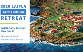 LAIDPLA Spring Seminar Retreat 2020