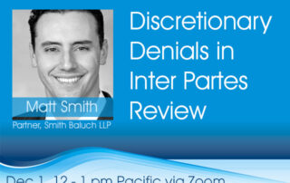 Discretionary Denials in Inter Partes Review